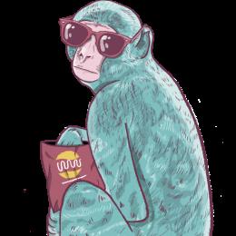 קוף רקע שקוף - 2